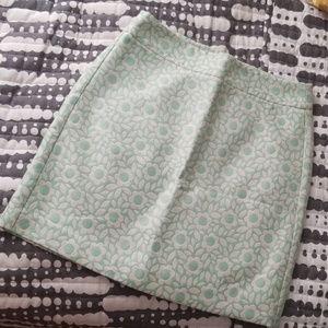 PETTES LOFT Mint Green Pencil Kirt